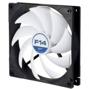 Arctic f14 вентилатор за кутия 140x140x27 acfan00077a, arctic-fan-acfan00077a