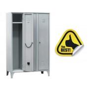 VESTIAR METALIC CU PICIOARE SI 3 USI 112/03, 1050x500x1800 mm, Italia