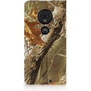 Motorola Moto G7 G7 Plus Uniek Standcase Hoesje Wildernis