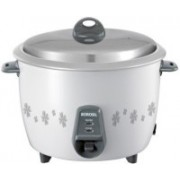 Borosil BRC18MPC21 Electric Rice Cooker with Steaming Feature(1.8 L, White)