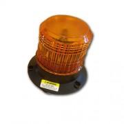 Ledes sárga biztonsági villogó 12V-110V LED megkülönböztető jelzés