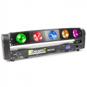 Beamz MHL510 Lichteffektgerät Color Sweeper 5 x 10W Quad Cree LED