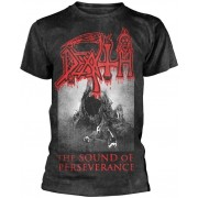 Death The Sound Of Perseverance Black T-Shirt XXL