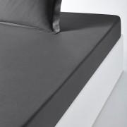 La Redoute Interieurs Lençol-capa em algodão bio, ScenarioCinza-Escuro- 180 x 200 cm