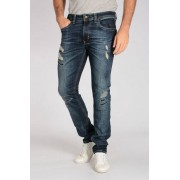 Diesel Jeans THAVAR in Denim Stretch Destroyed 16 cm taglia 38