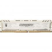 Memorie Ballistix Sport LT White, 8GB, DDR4, 2400MHz, CL16, 1.2V