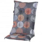 Madison Poduszka na krzesło Fantasy, 105x50 cm, pomarańczowa, MONLB286