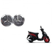 KunjZone Roots Megasonic Chrome Horn Set Of 2 For Honda Navi
