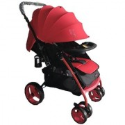 POLLYS PET JX9725 TCW BABY STROLLER RED