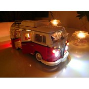Arundel Services EU Led Light up Kit for Lego 10220 Volkswagen T1 Camper Van Also 21001 Lights Building Blocks Compatible