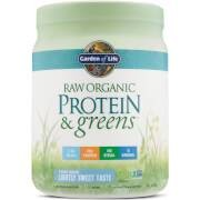 Garden of Life Organic Raw Protein And Greens Powder - Lightly Sweet - 488G