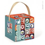 JANOD Puzzle dla dzieci 8w1 Morze i ocean Lovely - puzzle z motywami morskimi,