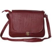 Kuero Maroon Sling Bag