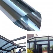 UV Reflexiva De Una Manera Privacidad Decoracion La Película De La Ventana De Cristal Pegatina, Ancho: 40 Cm, Longitud: 1 M (plata)