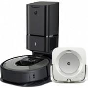 iRobot Roomba i7+ silver a Braava jet m6