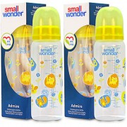 Small Wonder BPA Free Adre Baby Feeding Bottle 250 ml Pack of 2