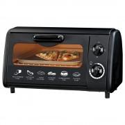 Тостер за сандвичи - фурна SAPIR SP 1441 P, 600W, 9 литра, Таймер, Тавичка, Черен