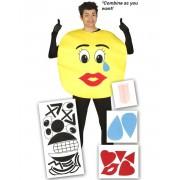 DIY Emoji Kostym - Klipp till Emoticons Själv