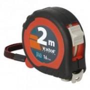 Extol mérőszalag 2 stoppos 2mx16mm, gumis (3152)