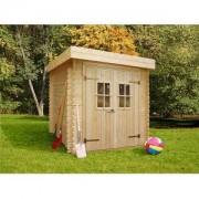 Abri de jardin bois Lanten - 3.47 m2