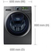SAMSUNG WW12K8412OX 12 kg Washer with AddWash Free Delivery