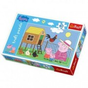 Puzzle Peppa Pig 30 piese- Peppa George si bunica porc