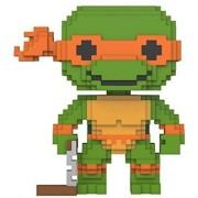 Funko 8-Bit Pop: Teenage Mutant Ninja Turtles-Michelangelo Collectible Figure