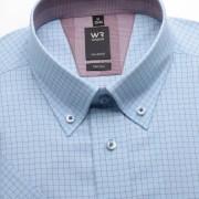Bărbați cămașă slim fit Willsoor Londra 1307