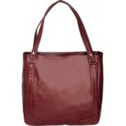 Bagged for Good BFG014B700BLK Shoulder Bag(Maroon, 10 inch)