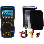 HOLDPEAK 760D Digitális multiméter VAC VDC AAC ADC frekvencia kapacitás bargraph TRMS.