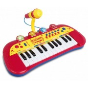 Bontempi Keyboard met Microfoon Rood