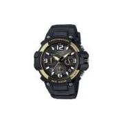 Relógio Casio Standard Cronógrafo Mcw-100h-9a2vdf Preto/dourado