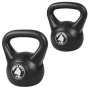 Gorilla Sports Kettlebells 10 en 14 kg Voordeelset kunststof