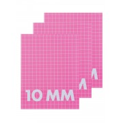 HEMA 3-pak Schriften A5 Ruit 10 Mm