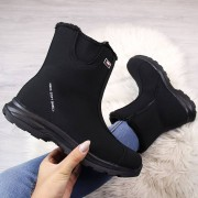 DK Czarne śniegowce wodoodporne DK Soft Shell - czarny