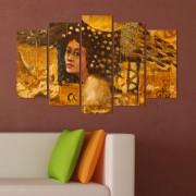 Декоративен панел за стена с абстрактен женски образ Vivid Home