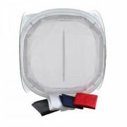 StudioKing fotografski šator 90x90x90cm sklopivi bijeli transparentni Foldable Photo Tent light cube LS-FF90 90x90 571356