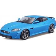 Jaguar XKR-S (Blauw) 1:24 Bburago - Modelauto - Schaalmodel - Miniatuurauto - Model auto