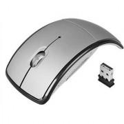 Oxza Ocean 2.4Ghz Foldable ARC Wireless Optical Mouse (USB Silver)