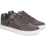 Levi's JEFFREY DENIM Sneakers For Men(Brown)
