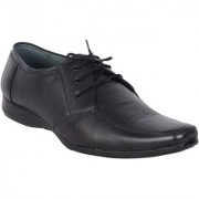 Shoebook Black Leather Formal Lace Up Shoes