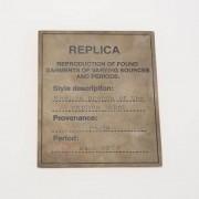 Martin Margiela Mm11 Spilla In Argento Primavera-Estate Art. 85310