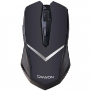 Mouse, CANYON CNE-CMSW3, Wireless, USB, Black