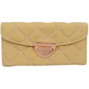 Bagaholics Casual, Festive, Formal, Party, Sports, Wedding Beige, Gold Clutch
