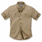 Carhartt Rugged Flex Rigby Work Camicia manica corta Verde Marrone XL