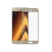 Folie Sticla Samsung Galaxy J5 2017 j530 Gold Fullcover 2D Full Glue Tempered Glass Ecran Display LCD