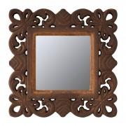 Xenos Spiegel barok rand - 23x23 cm