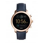 メンズ FOSSIL Q Q Explorist Touchscreen Smartwatch スマートウォッチ ダークブルー