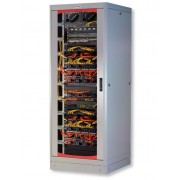 "Armadio Rack 19"" 600x800 27 Unita' Grigio"