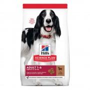 18кг 1-6 Adult Medium Hill's Science Plan, суха храна за кучета с агнешко и ориз